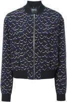 Markus Lupfer leopard print bomber jacket