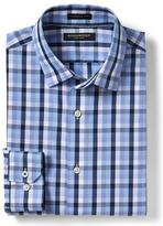 Banana Republic Camden Standard-Fit Non-Iron Gingham Shirt