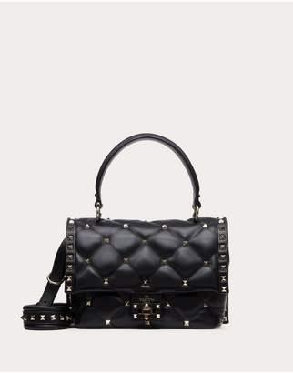 Valentino Garavani Medium Candystud Top-Handle Bag