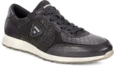 Ecco Black Sneak Trainer - Women