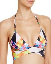 Mara Hoffman Fractals Wrap-Around Bikini Top