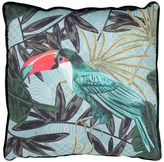 Marioni Tropical Printed Cotton Pillow