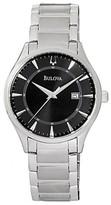 Bulova 96B184 Dark Grey Dial Stainless-Steel Bracelet Mens Watch