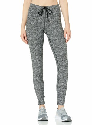 Andrew Marc Women's Long Jogger Style Legging with Logo Elastic