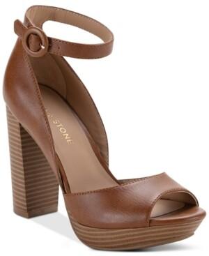Sun + Stone Reeta Block-Heel Platform Sandals, Created for Macy's Women's Shoes