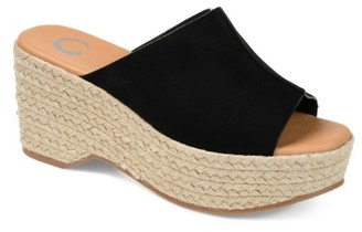 Journee Collection Karmen Espadrille Platform Sandal