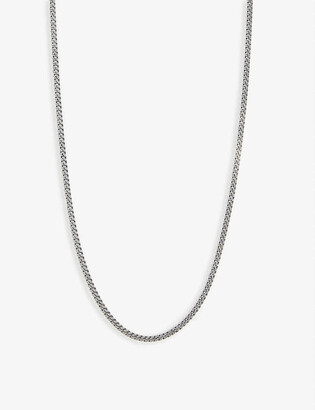 Tom Wood Sterling silver curb chain necklace