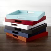 Crate & Barrel Zuma Trays