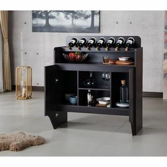 Ebern Designs Little Italy Bar Cabinet