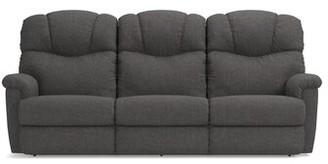 La-Z-Boy Lancer 87 inches Reclining Pillow Top Arms Sofa Cushion Fill: Polyurethane Foam