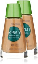 Cover Girl Clean Sensitive Skin Liquid Makeup, Tawny N 265, 1.0-Ounce (30ml) Bottle