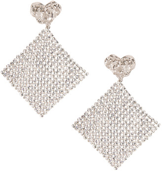Magda Butrym Lovage Earrings in Silver | FWRD