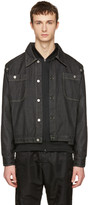 Telfar Black Convertible Denim Jacket