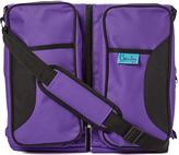 Purple Geometric Bassibag Convertible Diaper Bag
