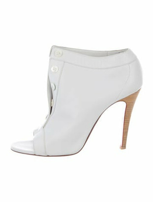 Christian Louboutin Leather Pumps White