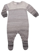 Cuddl Duds Ombre Footed Coverall (Baby Boys)