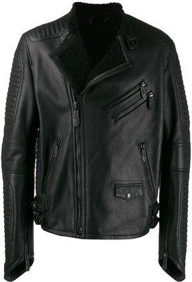 Philipp Plein Space biker jacket
