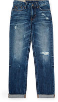 Ralph Lauren Distressed Slouch Skinny Jean