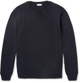 Sunspel - Merino Wool And Cotton-blend Sweater
