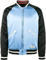 Wacko Maria reversible souvenir bomber jacket - men - Cotton/Polyester/Rayon/Wool - S