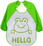 SUPPION Unisex Babies Waterproof Bibs, Cartoon Translucent Plastic Soft Baby Bibs Burp cloths. More easily after Babies or Toddlers Feeding (suit for 1~3 years old)