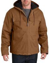 Dickies Men's Stretch Duck Hooded Jacket