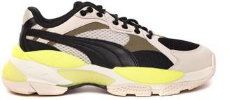 Puma Select Lqd Cell Epsilon Multicolor Mesh & Leather Sneaker