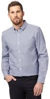 J By Jasper Conran Big And Tall Blue Spotted Print Shirt