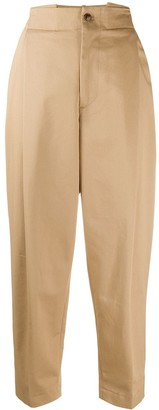 Barena Tapered Cropped Leg Trousers