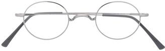 Epos Teseo round-frame wire glasses
