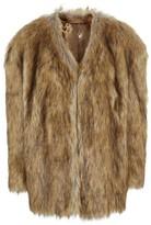Topshop Women's Chubby Faux Fur Coat