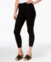 Style&Co. Style & Co Style & Co Petite Studded Pull-On Pants, Created for Macy's