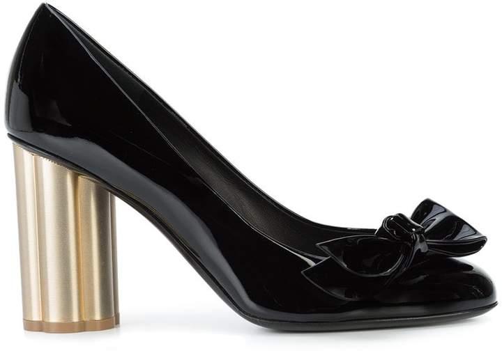 Salvatore Ferragamo Flower Heel pumps