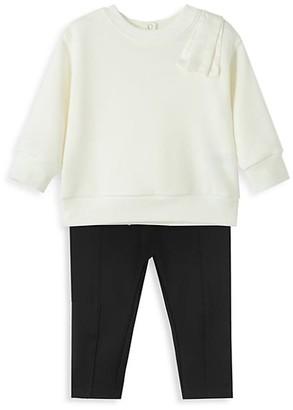 Habitual Baby's & Little Girl's Two-Piece Sweatshirt & Leggings Set
