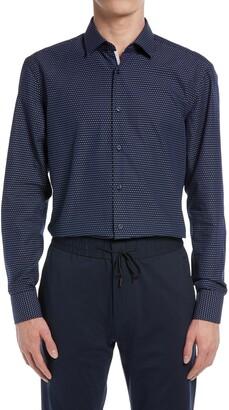 HUGO BOSS Jesse Slim Fit Button-Up Dress Shirt
