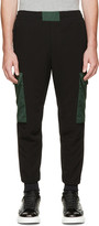 Alexander McQueen Black & Green Lounge Pants