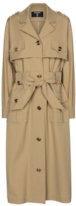 Balmain Trench coat