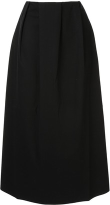 Sofie D'hoore Sorencope pleated midi skirt