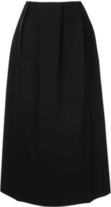 Sofie D'hoore Sorencope pleated midi skirt