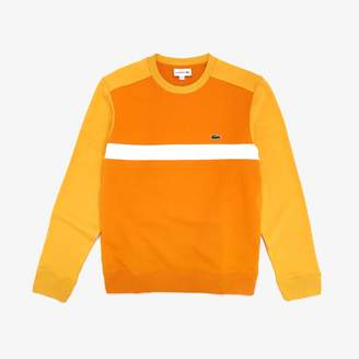 Lacoste Men's Color-Block Cotton Fleece Sweatshirt