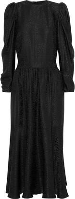 Stella McCartney Silk-jacquard Midi Dress