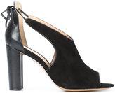 Rachel Zoe open toe sandal heels - women - Leather - 38.5
