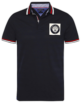 Tommy Hilfiger Cotton Jersey Regular Fit Polo Shirt, Navy