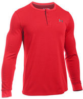 Under Armour UA Waffle Henley Long Sleeve Tee