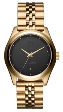 MVMT Men's Rise Hustle Gold-Tone Stainless Steel Bracelet Watch 39mm