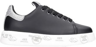 Premiata Belle Sneakers In Black Leather