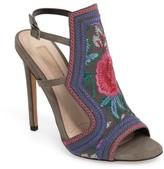 Topshop Women's Raquel Embroidered Sandal