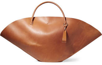 Jil Sander Large Leather Tote - Tan