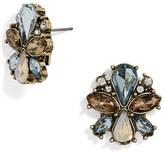 BaubleBar Women's Evanthia Crystal Stud Earrings