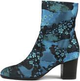 Django & Juliette Deliscka Gold boho Boots Womens Shoes Dress Ankle Boots